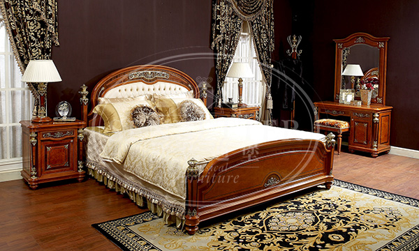 Senbetter veneer thomasville bedroom furniture with shiny brass accessory decoration for decoration-1