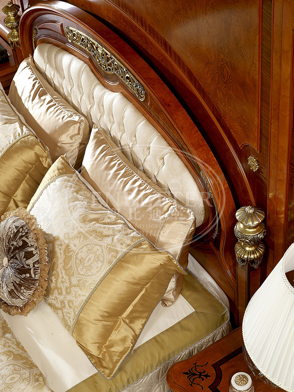 Senbetter veneer thomasville bedroom furniture with shiny brass accessory decoration for decoration-5