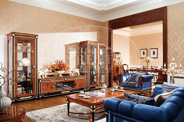 luxury home furniture living room with buffet for home