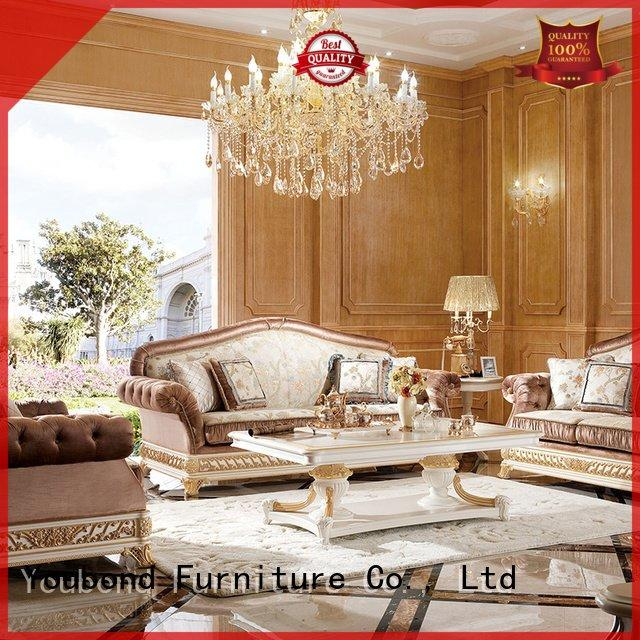 OEM classic living room furniture style vintage white living room furniture