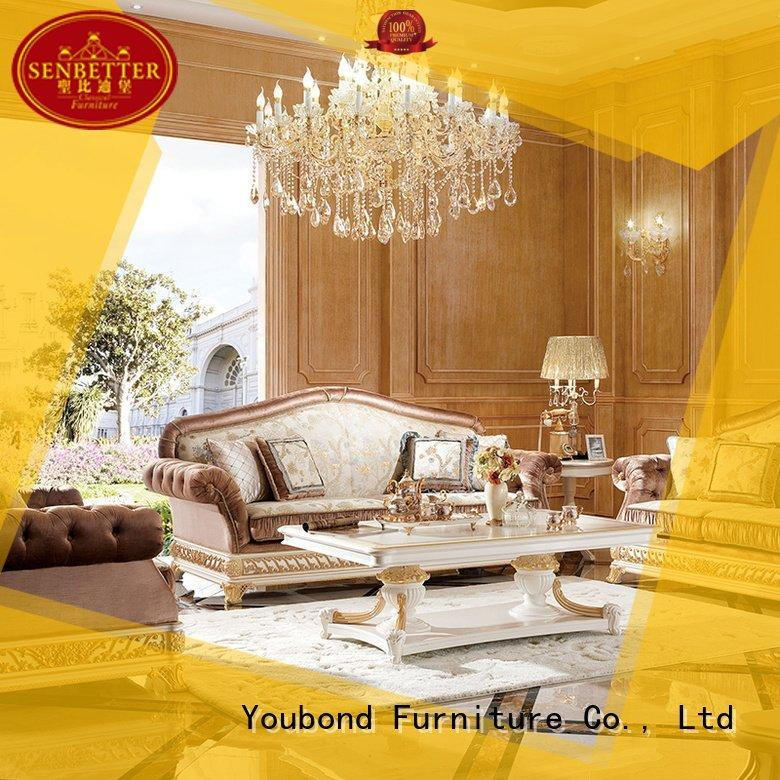 white living room furniture room classic living room furniture Senbetter Brand