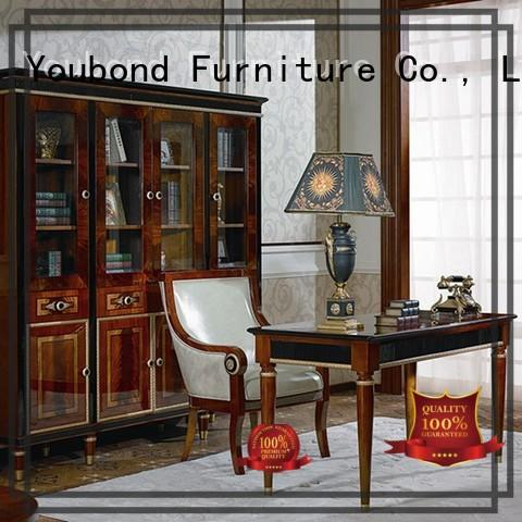 desk Custom louis office classic office furniture Senbetter veneer