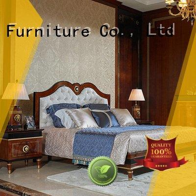 oak bedroom furniture furniture0062 veneer solid wood bedroom furniture Senbetter Warranty