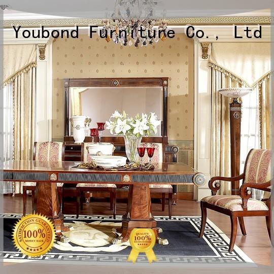 Senbetter european solid wood dining table manufacturer for sale