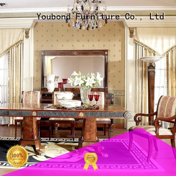 Hot set classic dining room furniture wood wooden Senbetter Brand