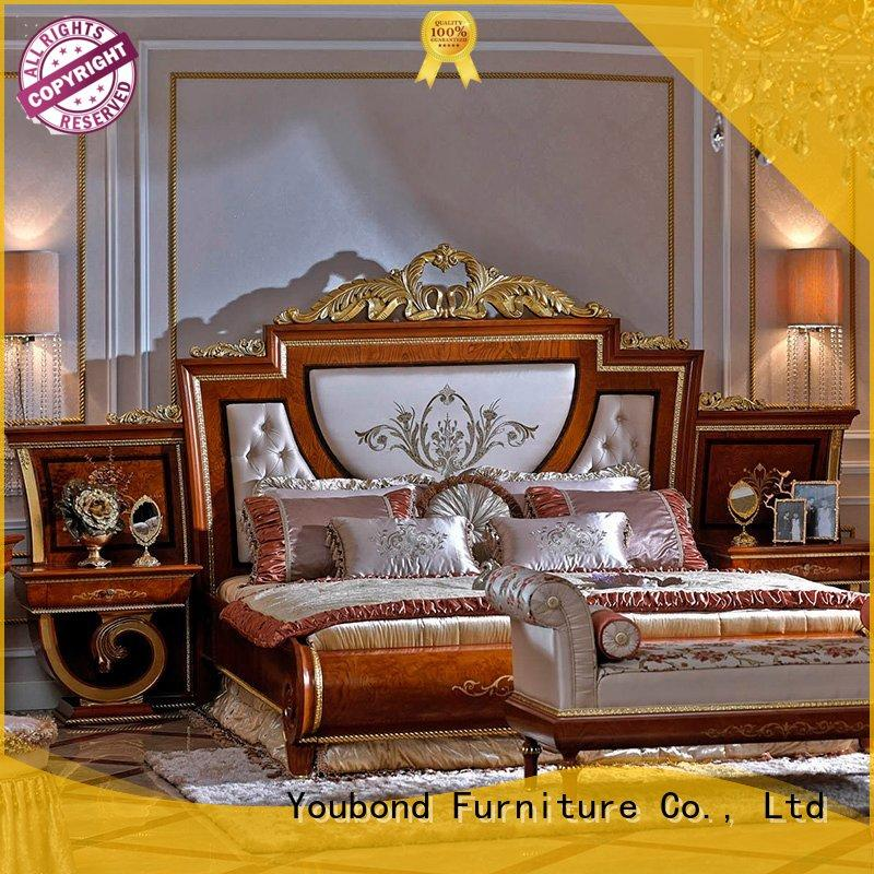 mahogany best bedroom furniture with white rim for decoration