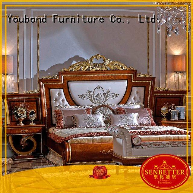 Custom design solid wood bedroom furniture solid oak bedroom furniture