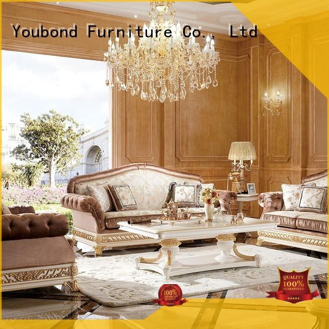 design carving Senbetter Brand white living room furniture factory