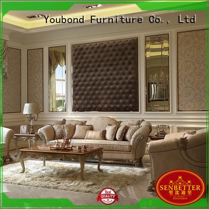 Senbetter Brand furniture style classic living room furniture baroque factory