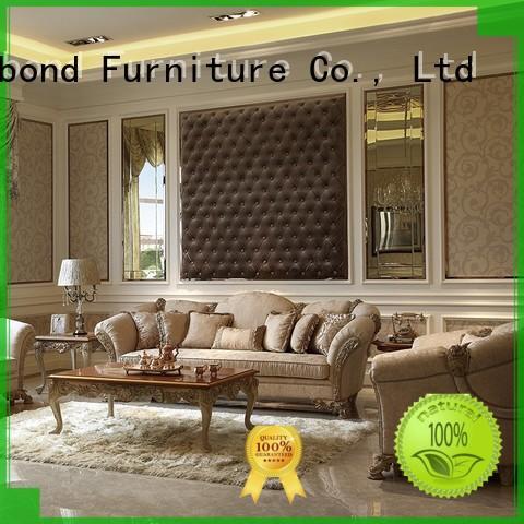 carving design white living room furniture dubai Senbetter company