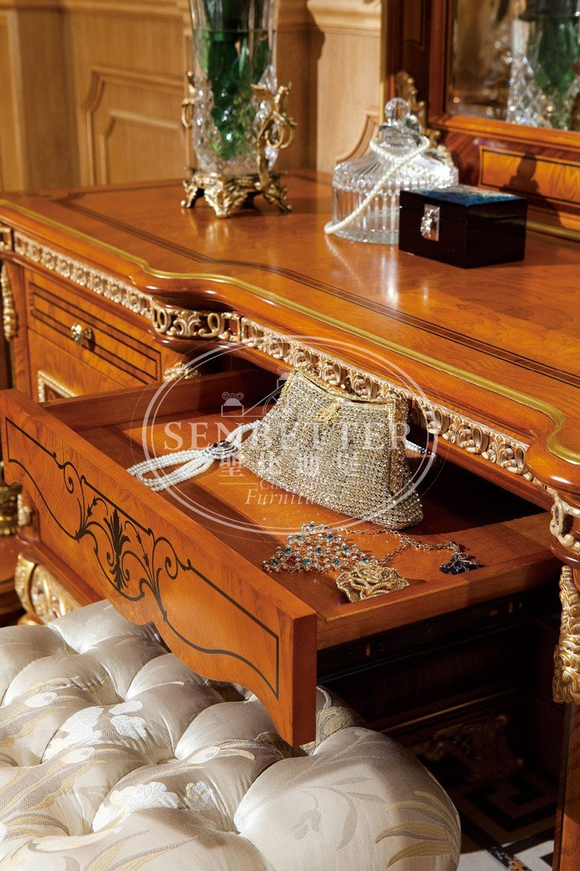 Senbetter gold bedroom furniture company for sale-6