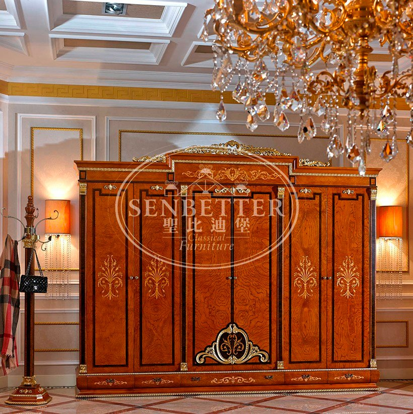 Senbetter european alstons bedroom furniture with chinese element for royal home and villa-1