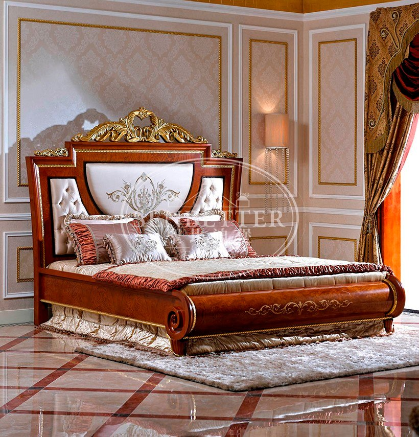 Senbetter black bedroom suite furniture suppliers for royal home and villa-2