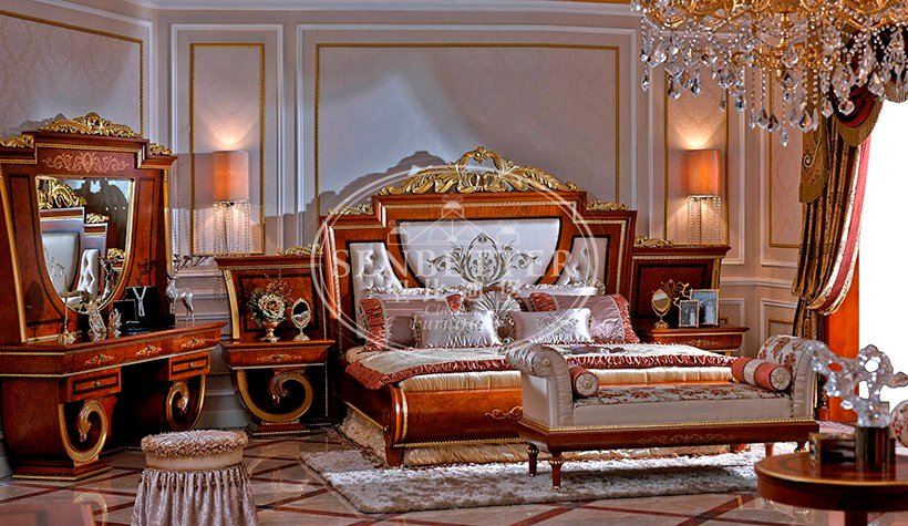 Senbetter european alstons bedroom furniture with chinese element for royal home and villa-3