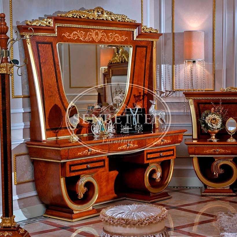 Senbetter european alstons bedroom furniture with chinese element for royal home and villa-6