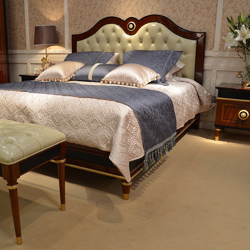 Senbetter-Manufacturer Of Solid Wood Bedroom Furniture Spain Simple Design High Gross-1