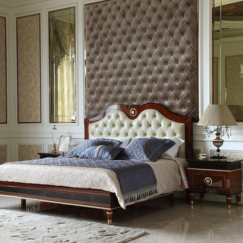 Spain Simple Design High Gross Mahogany Veneer Solid Wood ...