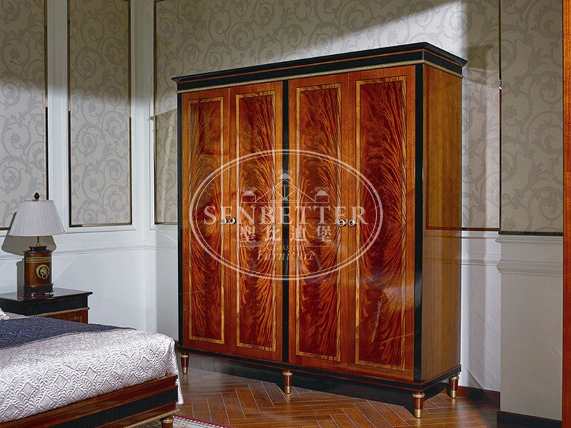 Senbetter antique bedroom furniture with chinese element for decoration-4