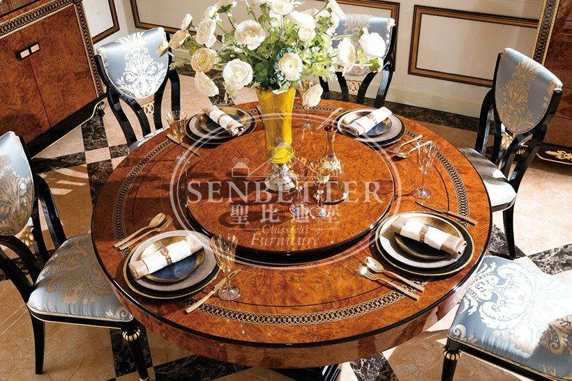 Senbetter senbetter classic furniture store with table for hotel