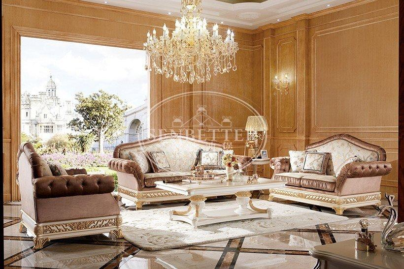 dubai flower classic living room furniture classic Senbetter Brand company