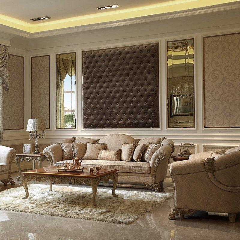 Latest Baroque Vintage Design & Dubai Lifestyle Sofa Furniture Living Room Sofa Furniture 0066