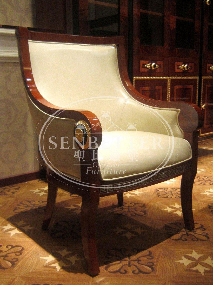 Senbetter luxury wood office furniture with office chair for hotel