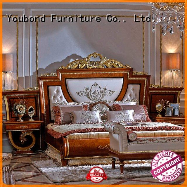 Senbetter solid wood bedroom furniture mahogany bedroom solid style