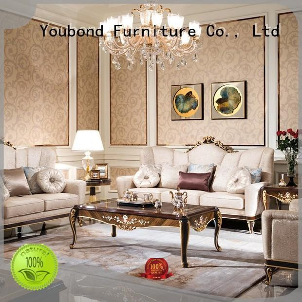 Senbetter Brand delicate lifestyle room carving classic living room furniture