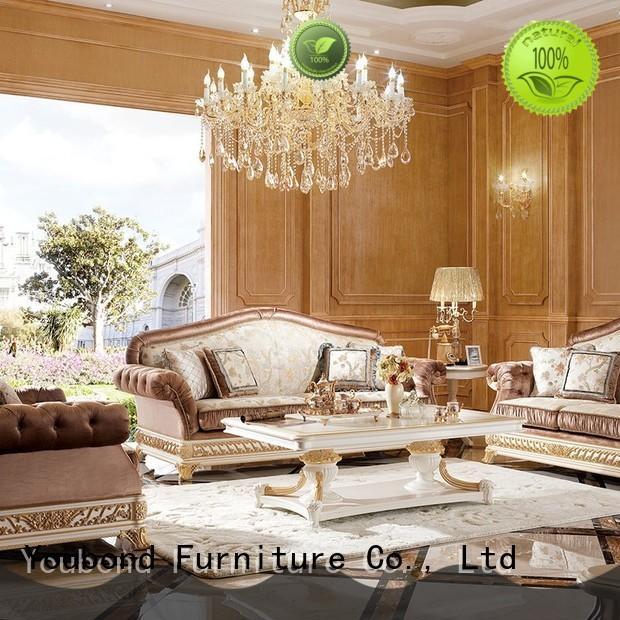 Senbetter classical formal living room sofa factory for hotel