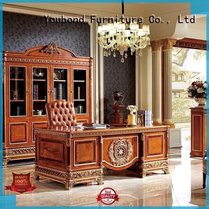 Senbetter wooden desk with office writing desk for company