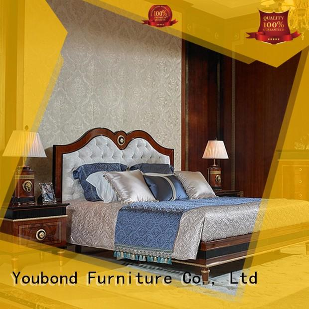 high end solid wood bedroom furniture manufacturers for decoration