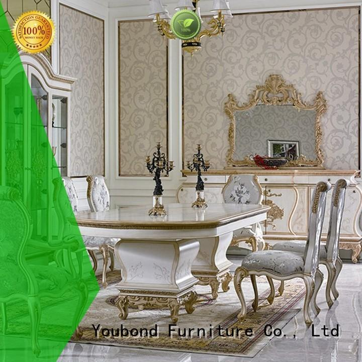 Senbetter dining room table sets with table for villa