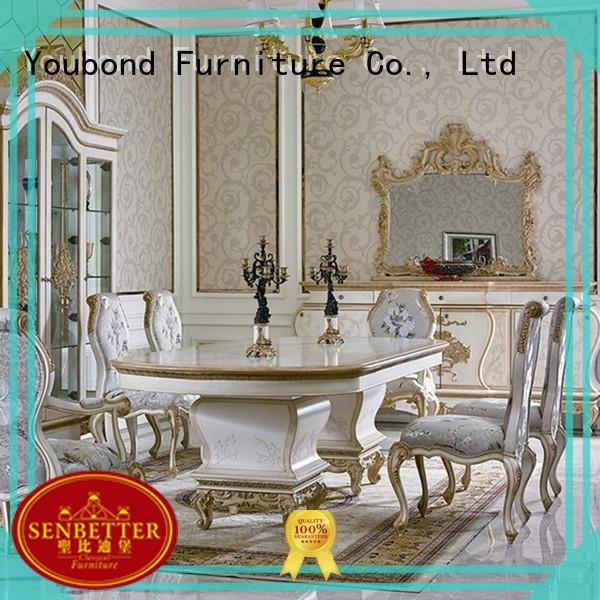italian dining furniture sets with buffet for villa