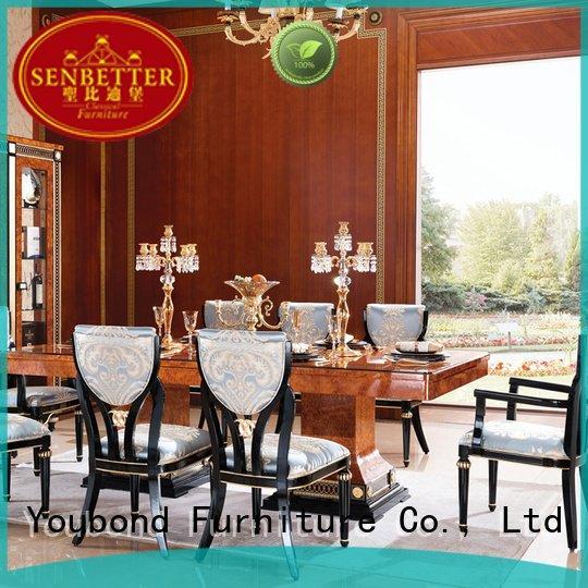 luxury villa set design Senbetter classic dining room furniture