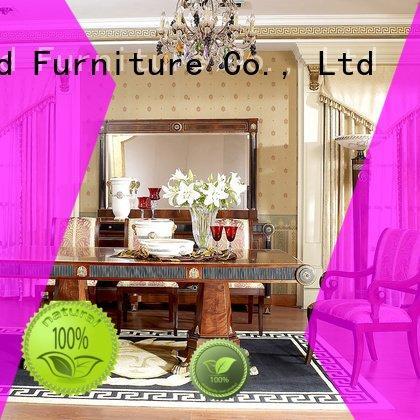 Senbetter Brand spanish wooden wood classic dining room furniture luxury