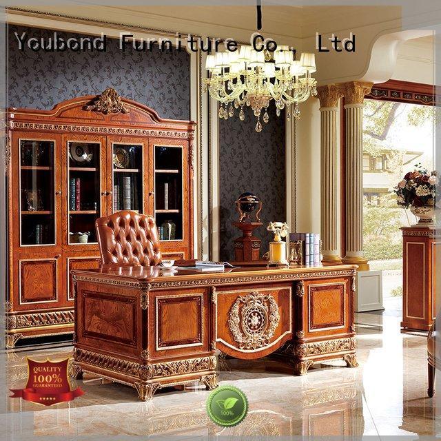 office wood veneer french Senbetter desk furniture