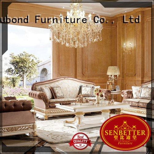 Senbetter Brand italian flower classic living room furniture dubai wood