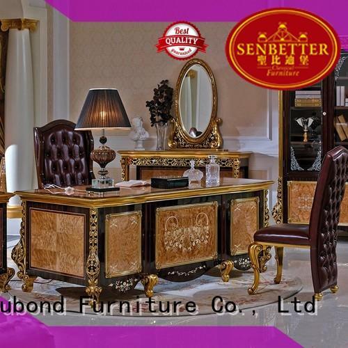 mahogany study desk furniture Senbetter Brand