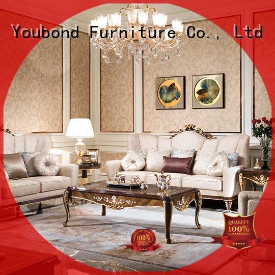 Senbetter Brand luxury palace white white living room furniture