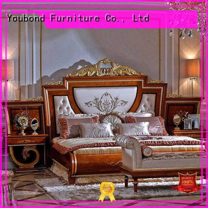 solid beech simple oak bedroom furniture Senbetter