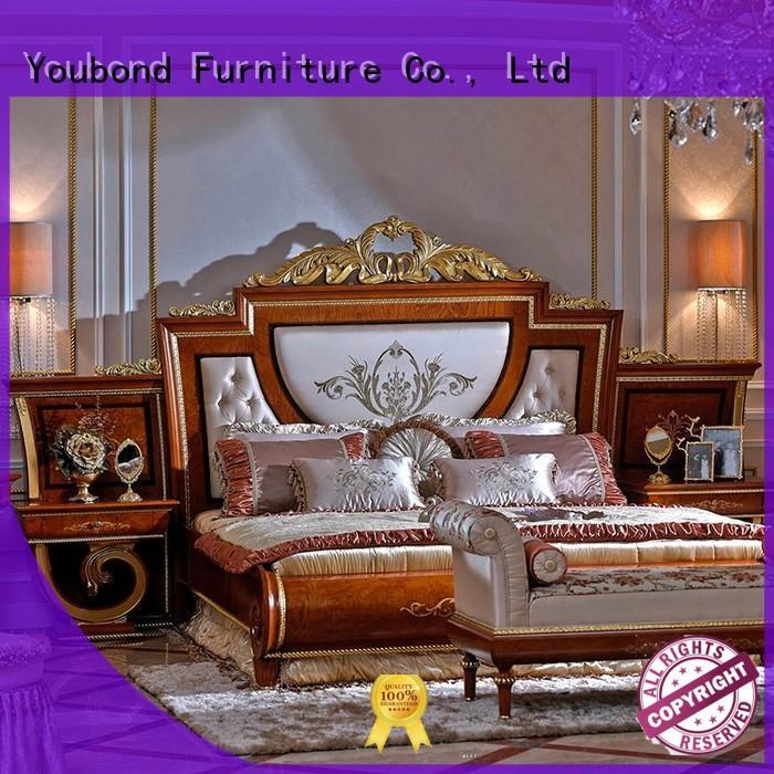 Senbetter Brand beech solid bedroom mahogany classic bedroom furniture