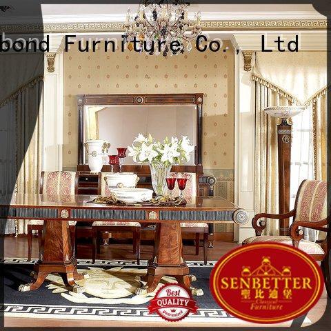 Wholesale furniture luxury classic dining room furniture Senbetter Brand