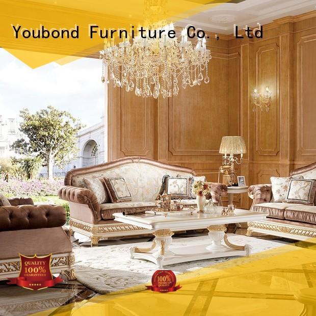 white living room furniture luxury carving vintage Senbetter Brand