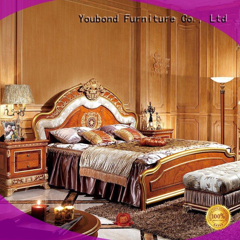Senbetter Brand veneer bedroom solid wood bedroom furniture style design