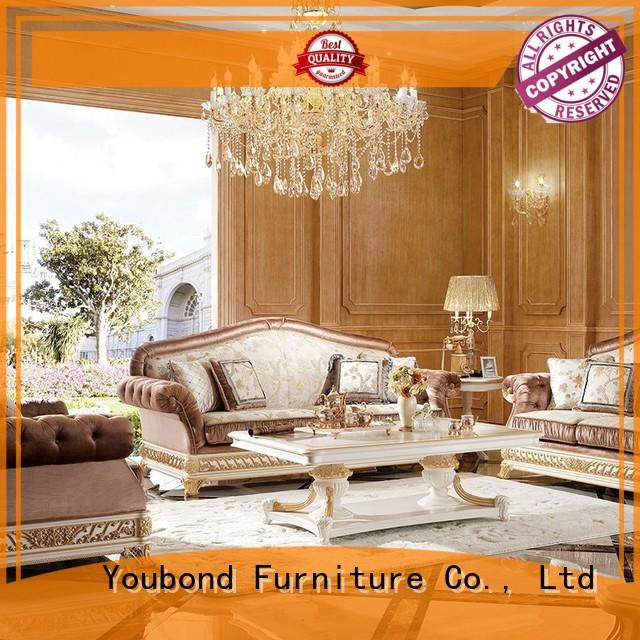 Senbetter wooden living room furniture packages with buffet for living room
