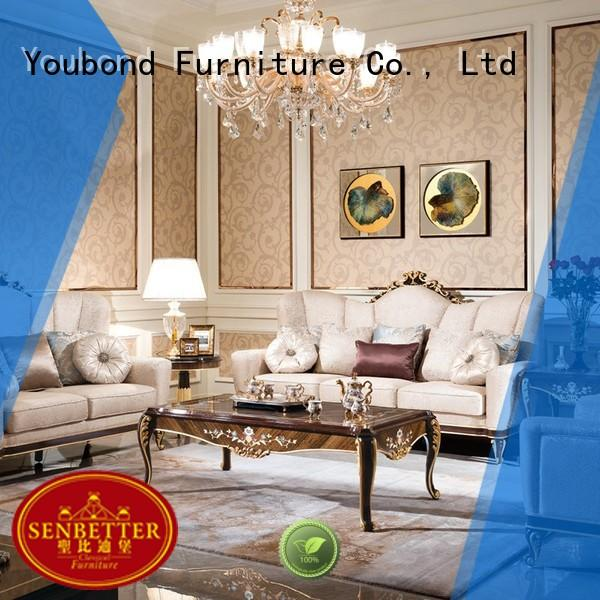 mirror of buffet inexpensive living room furniture long dining table for living room Senbetter