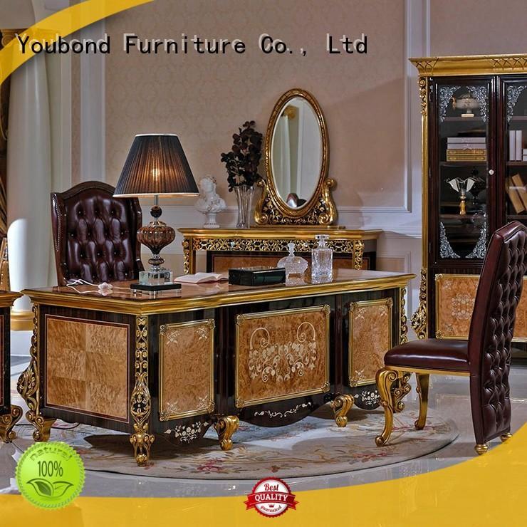 italian classic wood home office furniture