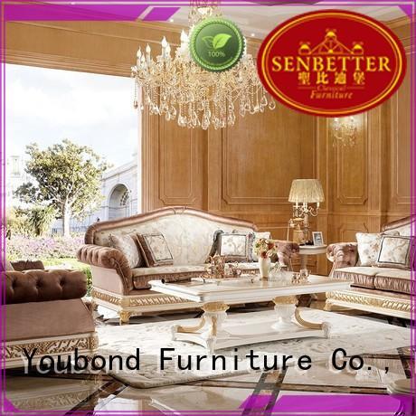 Wholesale wood white living room furniture latest Senbetter Brand