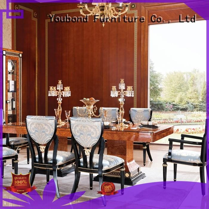 Senbetter lexington dining room furniture with buffet for villa