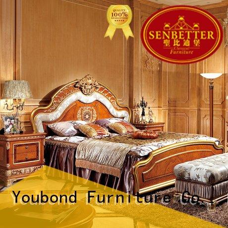 classic gross Senbetter solid wood bedroom furniture